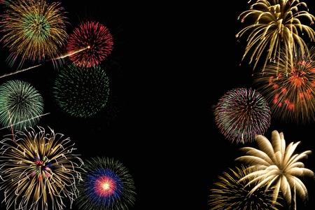 Fireworks Reklamní fotografie - 40164963