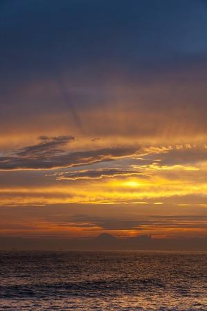 amanecer: Puesta del sol