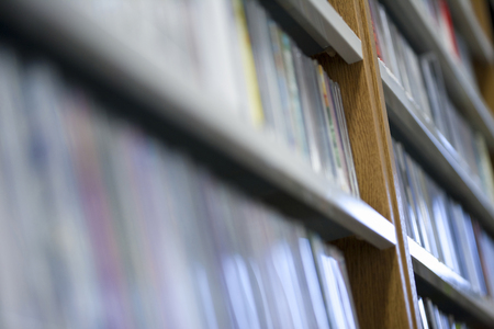 Music CD Reklamní fotografie