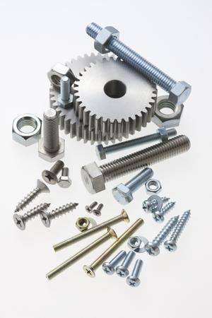 screw jack: Gear and screw