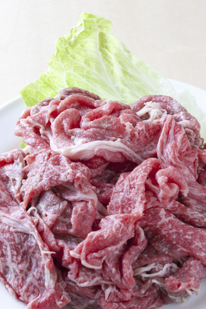 cut off: The cut off of beef