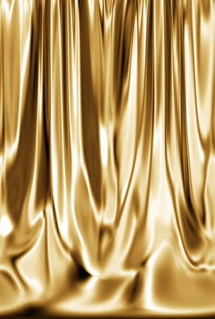 curtain background: Gold curtains