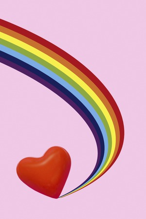 circumstance: Rainbow and Heart