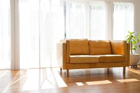 residency: Living room Stock Photo