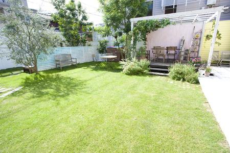 Garden and porch garden