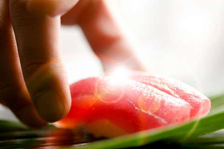carne roja: La carne roja de at�n