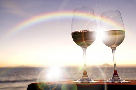 Wein Standard-Bild