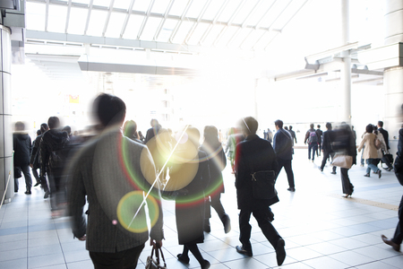 onlooker: Concourse of JR Shinagawa Station