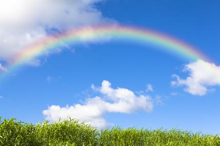 arco iris: Arco iris Foto de archivo