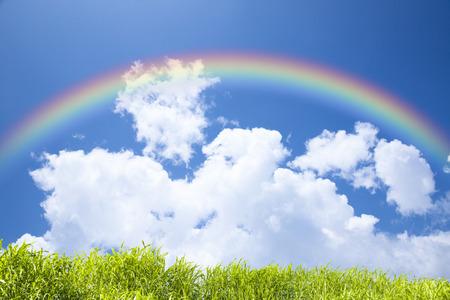Regenbogen Standard-Bild