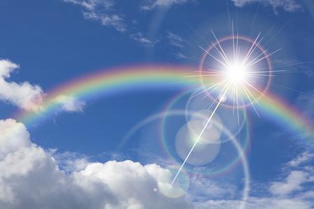 Regenboog Stockfoto