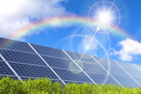 Solar Panel Zdjęcie Seryjne