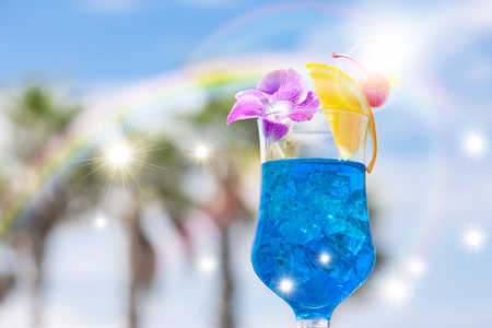 Tropical juice Stock fotó