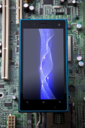 liquid state: Smart phone