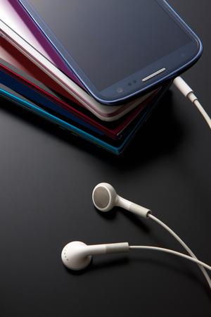 liquid crystal display: Smartphones and Yevhen Stock Photo