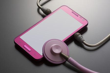 salubrious: Smartphones and stethoscope