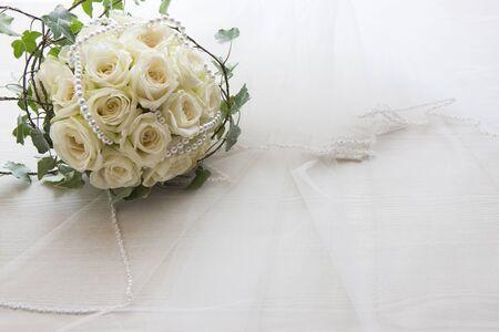 Huwelijksboeket Stockfoto