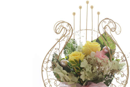 telegram: Congratulatory telegram of flowers