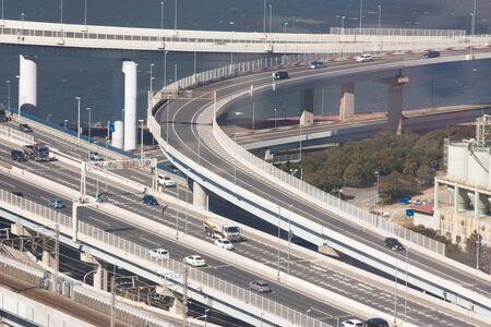 metropolitan: Metropolitan Expressway of Kasai junction