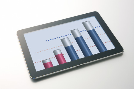 gain access: Tablet PC Stock Photo