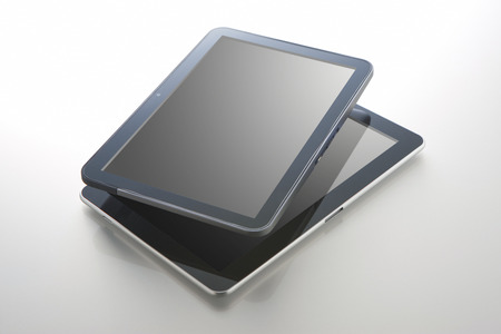 call out: Tablet PC Stock Photo