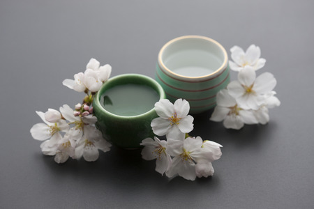 Chopsticks and cups