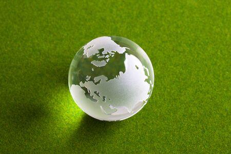 futurity: World globe Stock Photo
