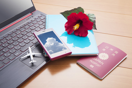 furlough: Overseas travel Stock Photo