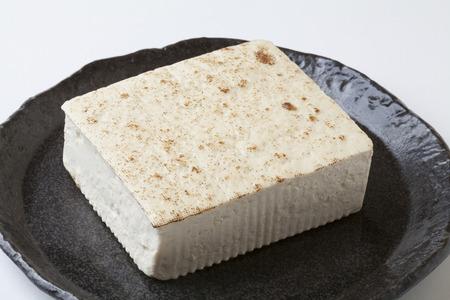broiled: Broiled tofu Stock Photo