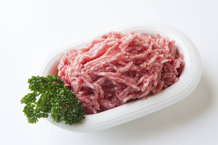 ground beef: Ground beef pork