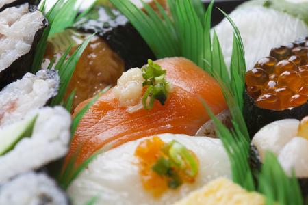 stuff fish: Nigiri-zushi