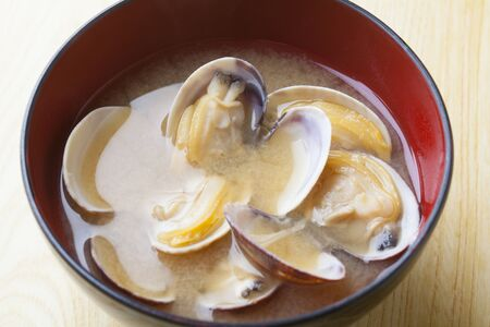 clam: Clam miso soup