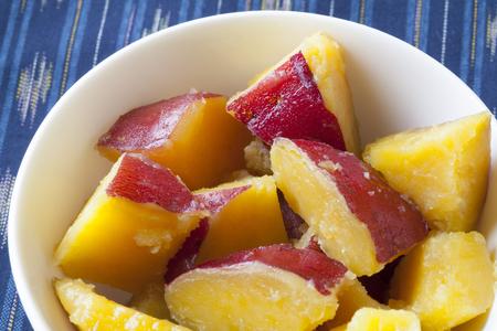 sweet potato: guiso de patatas dulces