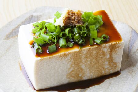 silken: Cold tofu Stock Photo