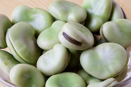 fava bean: Fava bean Stock Photo