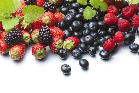 berry: Various Berry Stock Photo
