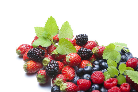 robust: Various Berry Stock Photo