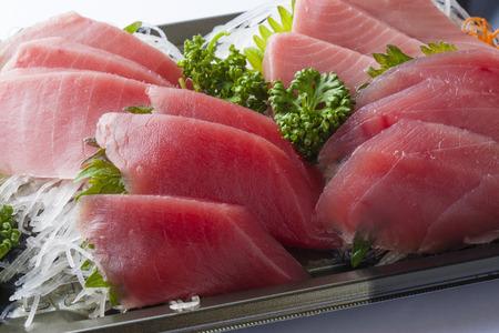 atun rojo: Sashimi de medio de Toro y el at�n rojo