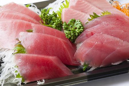 atun rojo: Sashimi de medio de Toro y el atún rojo