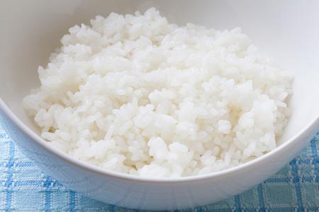 riso bianco: White rice Archivio Fotografico