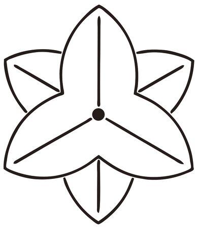 trifolia: Yin Yae beyond Sawakata Kageyae and son-in-law will Sagittaria trifolia