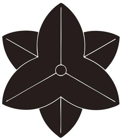 trifolia: Yae beyond Sawakata and Yae son-in-law will Sagittaria trifolia