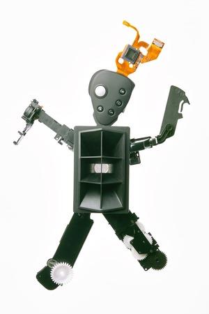 video still: Robot base Stock Photo