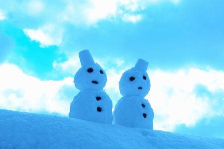 pair: Pair of snowman