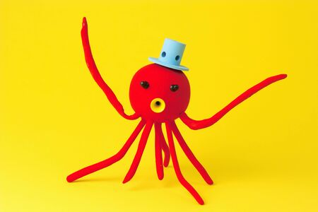 callus: Octopus crafts Stock Photo