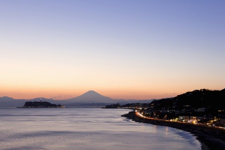 mt: Mt. Fuji and Enoshima