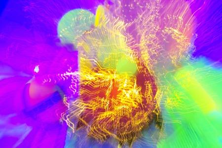 fluorescence: Black light Stock Photo