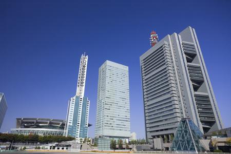さいたま新都心のビル群を取る