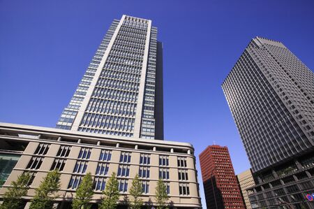 maru: Maru building, Shin-Marunouchi building Stock Photo