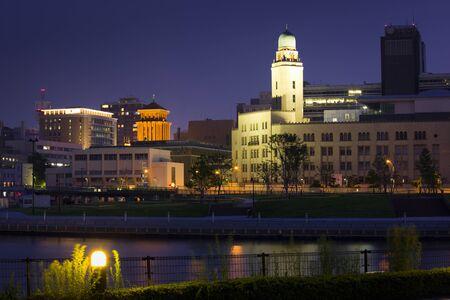 light up: Light up Yokohama Customs and Kanagawa Prefecture Government Office
